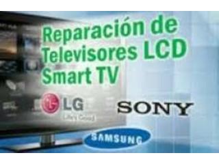 REPARACION EN PANTALLAS SMART TV , LCD Y PLASMA TODA MARCA Y TOTALIDAD EN GENERAL AL 6177-93-22