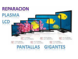 REPARACION EN PANTALLAS TODAS MARCAS , SMART TV LED , LCD MAS PLASMA EN GENERAL AL 6177-93-22