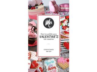 Reserva tu delicioso pedido para San Valentin