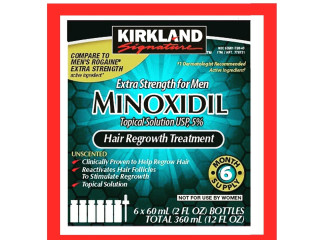 Minoxidil y biotina