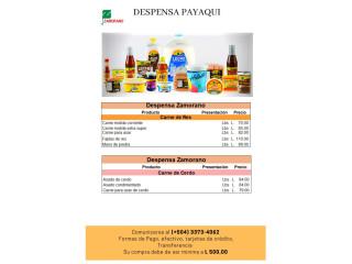 Despensa Payaquí / Contacto