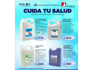 Desinfectantes, Gel antibacterial, Cloro CLEAN, Jabon para manos antibacterial