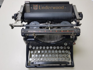 Maquina de escribir antigua - Underwood