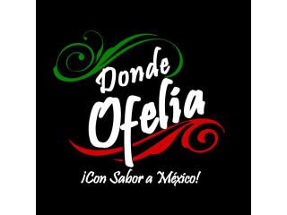 Donde Ofelia con Sabor a Mexico