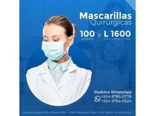 Venta Mascarillas Quirúrgicas