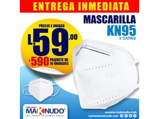 Mascarillas KN95 - Paquete de 10 unidades ¡ENTREGA INMEDIATA!