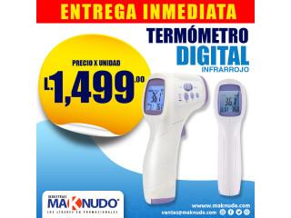 Termómetro Digital Infrarrojo ¡ENTREGA INMEDIATA!