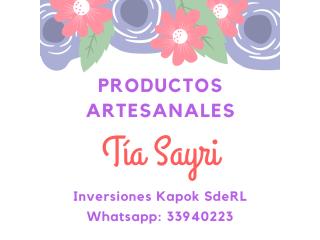 Productos Tía Sayri