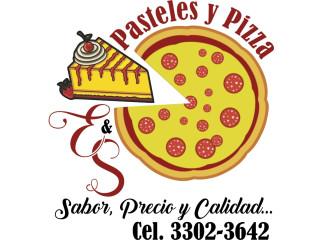 Pasteles pizzas y más E & S