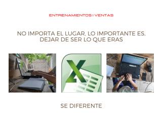 Curso de Excel Básico/Intermedio