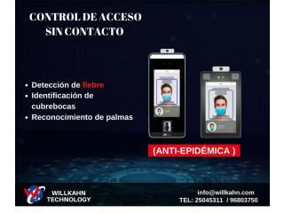 Control de acceso y asistencia con deteccion de fiebre