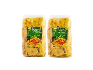 Snack's de Platano Natural 280gms (2 pack)