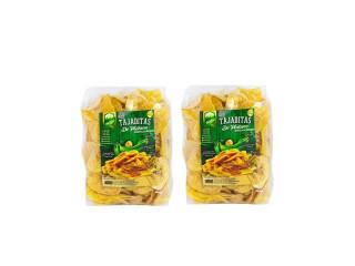 Snack's de Platano Natural 170gms (2 pack)