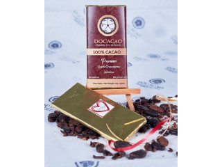 Barra Chocolate Amargo 100%