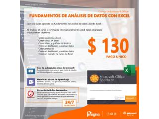 Curso de Fundamentos de Análisis de Datos con Excel