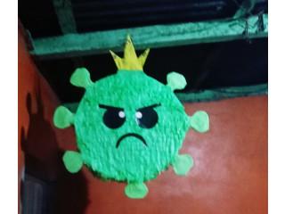 Piñata del coronavirus