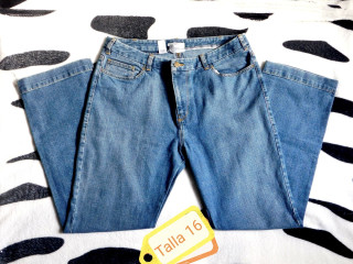 Pantalón Jean para Dama Tallas Plus Size