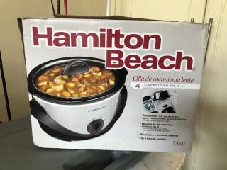 Slow cooker - olla de coccion lenta (hamilton beach NUEVA
