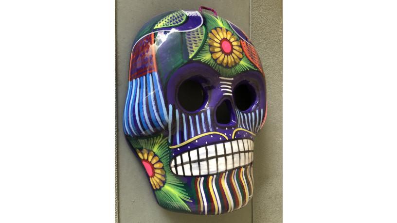 calavera-mexicana-pintada-a-mano-para-pared-big-2