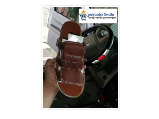 Sandalias y botines de cuero para Hombre