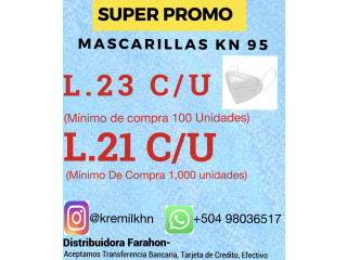Mascarillas KN 95