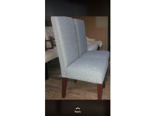 ¡NUEVO! Set 4 sillas comedor// CEDRO REAL