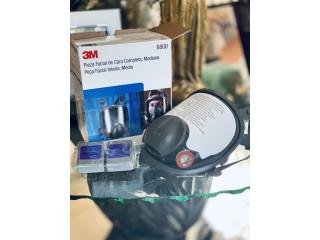 3M 6800 Las mejores mascarillas en el mercado mundial, para protección ante el Covid-19