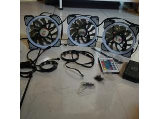 Ventiladores para PC gamer RGB