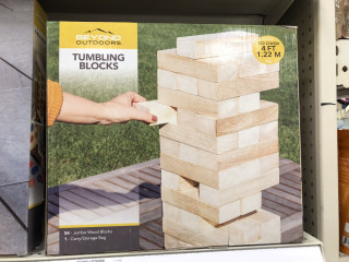 Tumbling blocks grandes