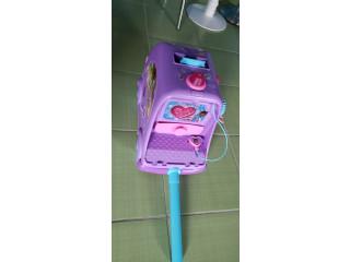 Carrito de la doctora juguete con música y luz de colores