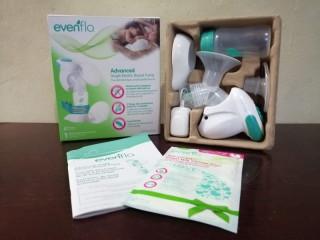 Evenflo extractor de leche para bebe electrico