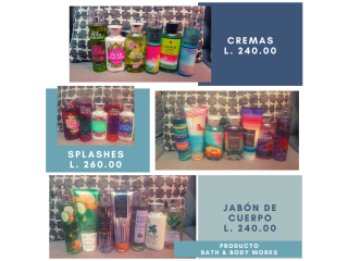 Productos Bath & Body Works