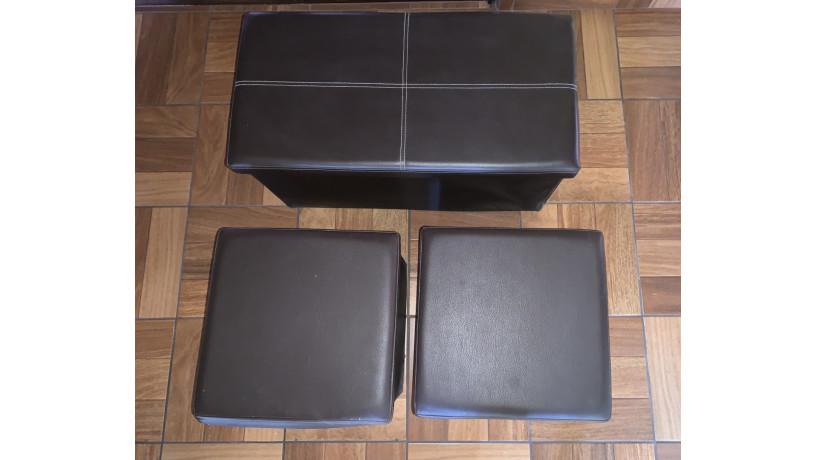 set-de-otomanes-de-almacenamiento-de-cuerina-plegable-big-0