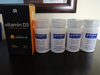 Vitamina d3 y zinc