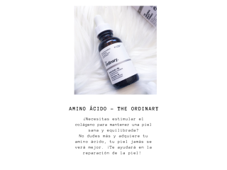 "Serum Amino Ácido ""The Ordinary"""