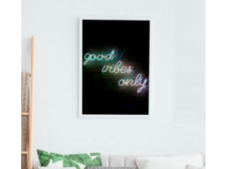 "Pintura ""Good vibes only"""