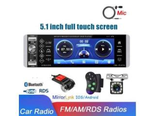 Radio de pantalla con 2 cámaras y control extra