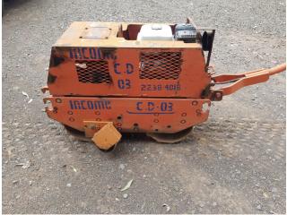 Compactadora Doble Rodo Pata De Cabra