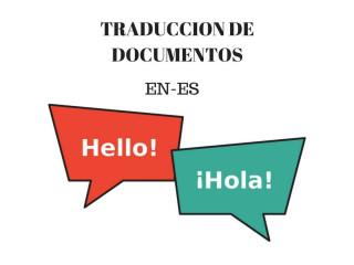 Traduccion de documentos ingles-español