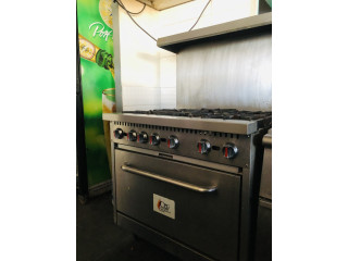 Vendo estufa profesional para restaurante