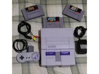 Vendo Super Nintendo