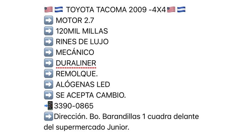 vendo-toyota-tacoma-2009-4x4-mecanico-big-0