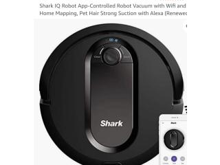 Ganga! Robot aspiradora Shark