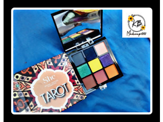 Paleta de sombra con alta pigmentacion TAROT