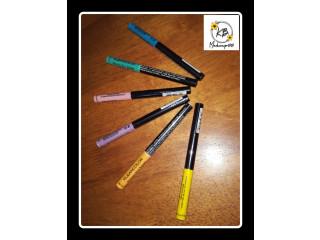 Delineadores de colores 75 c/u 190 por los 6