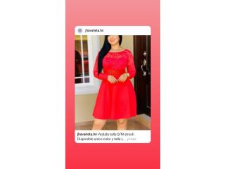 Vestido talla Unica  color Rojo