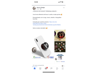 POP SOCKET PERSONALIZABLES