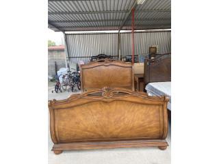 Base de madera cama Queen