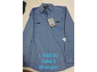 Camisa con etiqueta de Hombre marca Wrangler