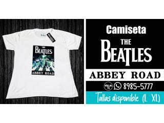 Camiseta The Beatles talla disponible L y XL